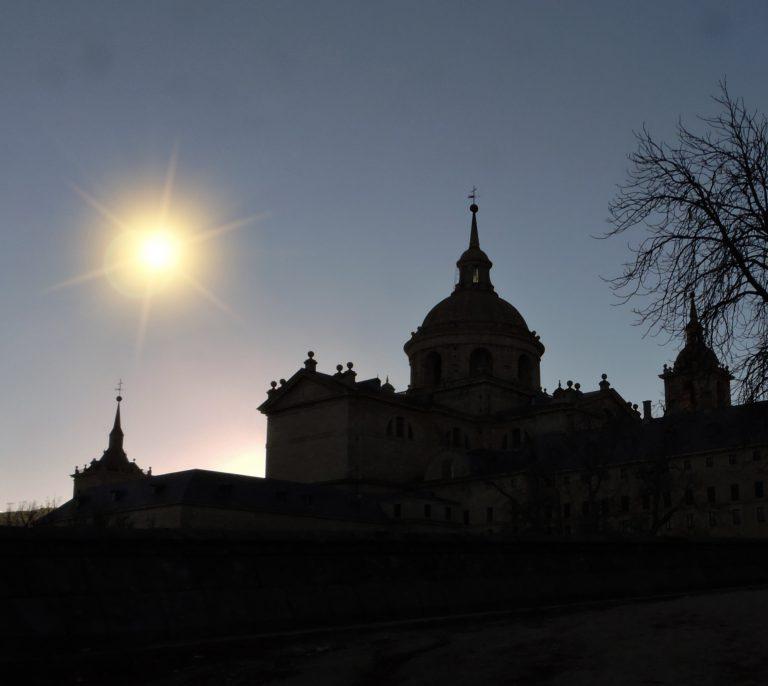Amanece en San Lorenzo de El Escorial