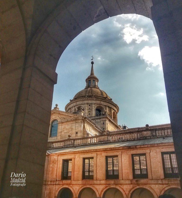 Patio del Monasterio de San Lorenzo de El Escorial