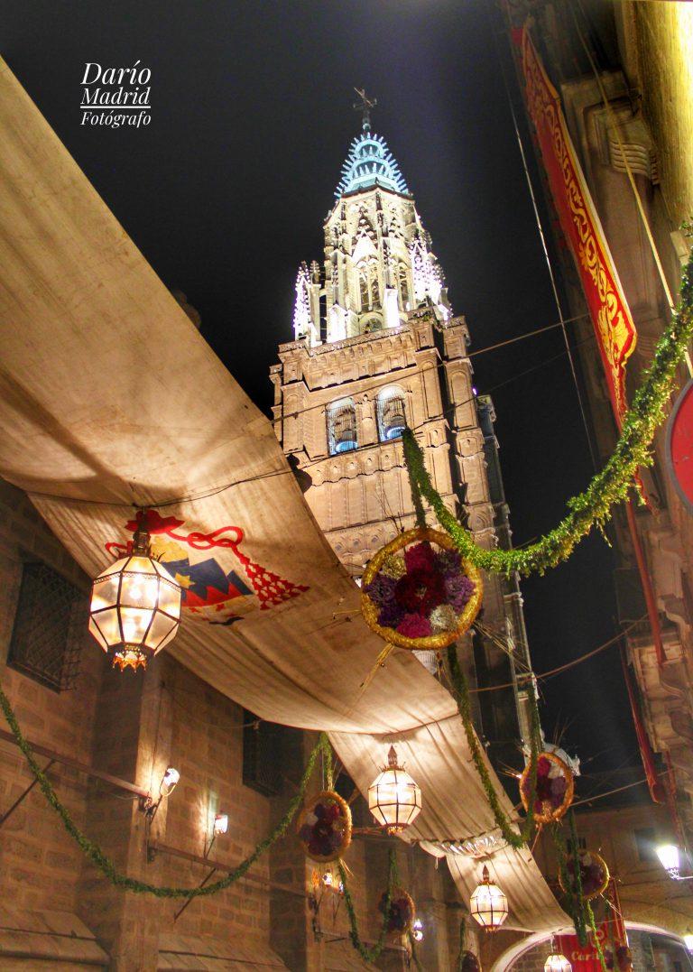 La Catedral de Toledo engalanada con ocasión del Corpus Christi