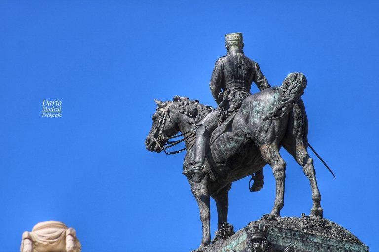 Monumento a Alfonso XII en el Parque del Retiro de Madrid