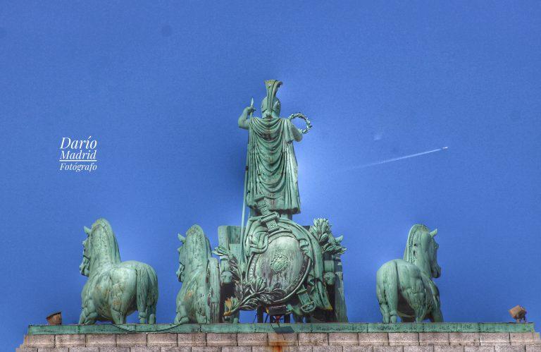 Cuádriga del Arco del Triunfo de Madrid