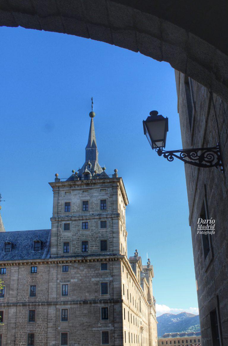 El Monasterio de San Lorenzo de El Escorial desde la calle Floridablanca