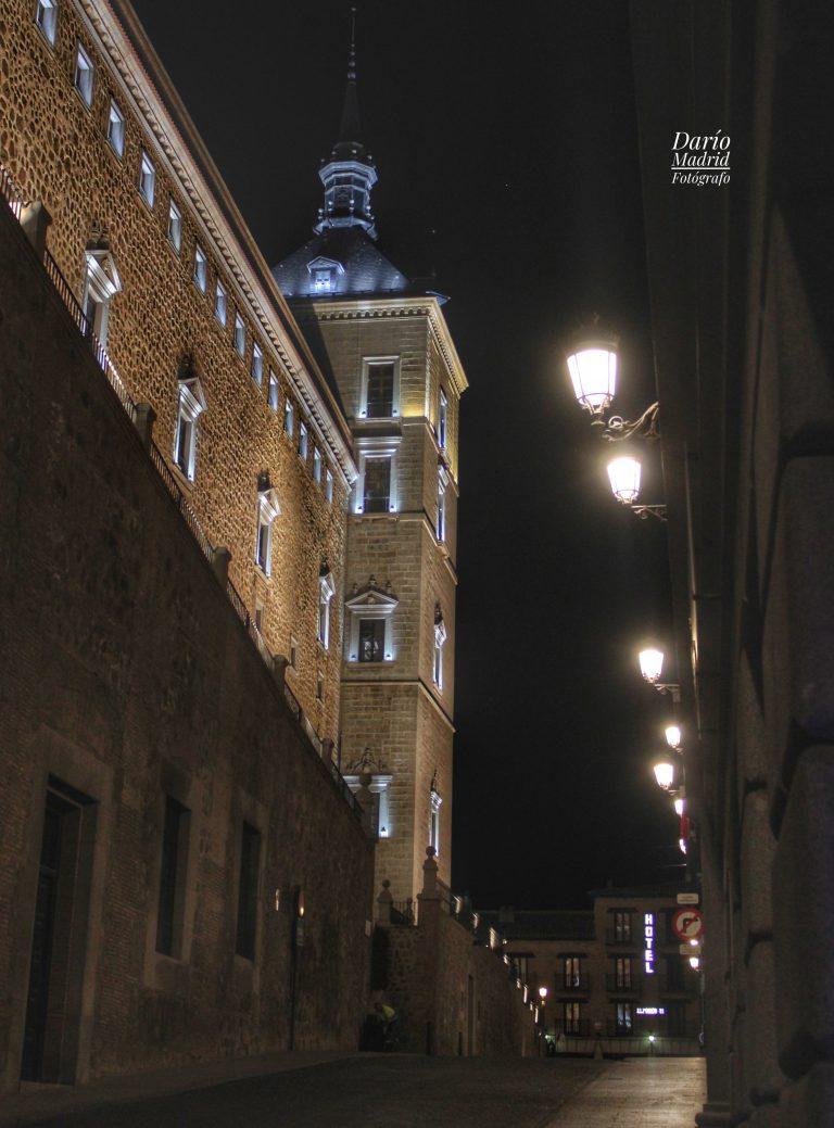 Nocturno del Alcazar de Toledo