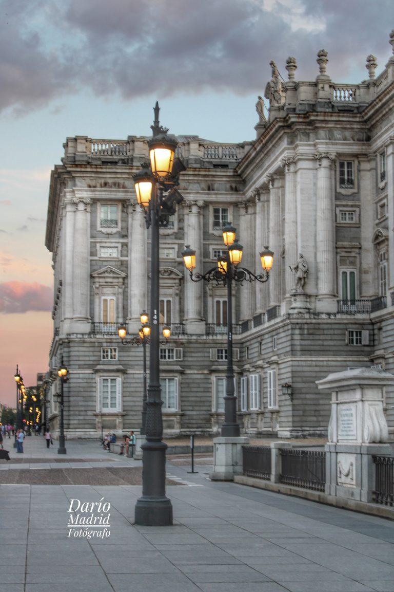 Farolas del Palacio Real de Madrid