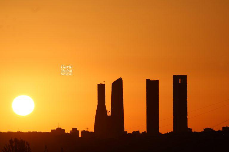 El Amanecer en Madrid