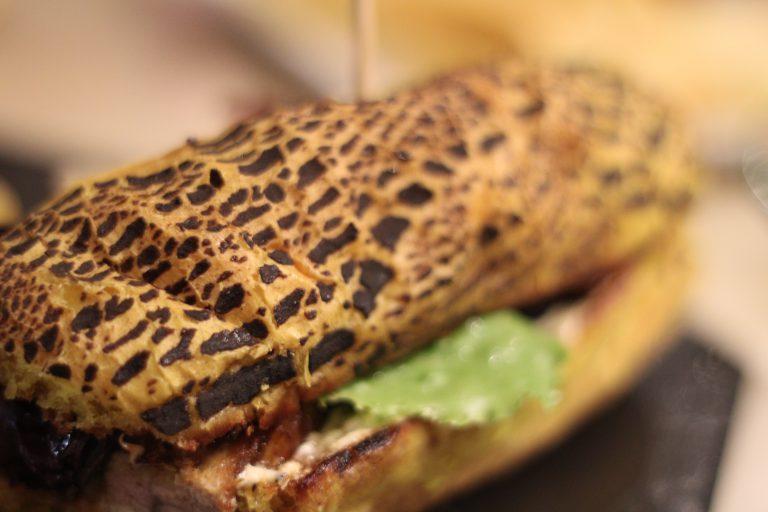 Pan de Tigre, Tapa de la Taberna Botero de Toledo