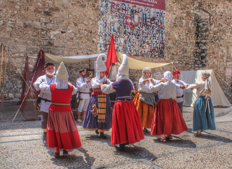 Bailes en el Festival Ducal de Pastrana
