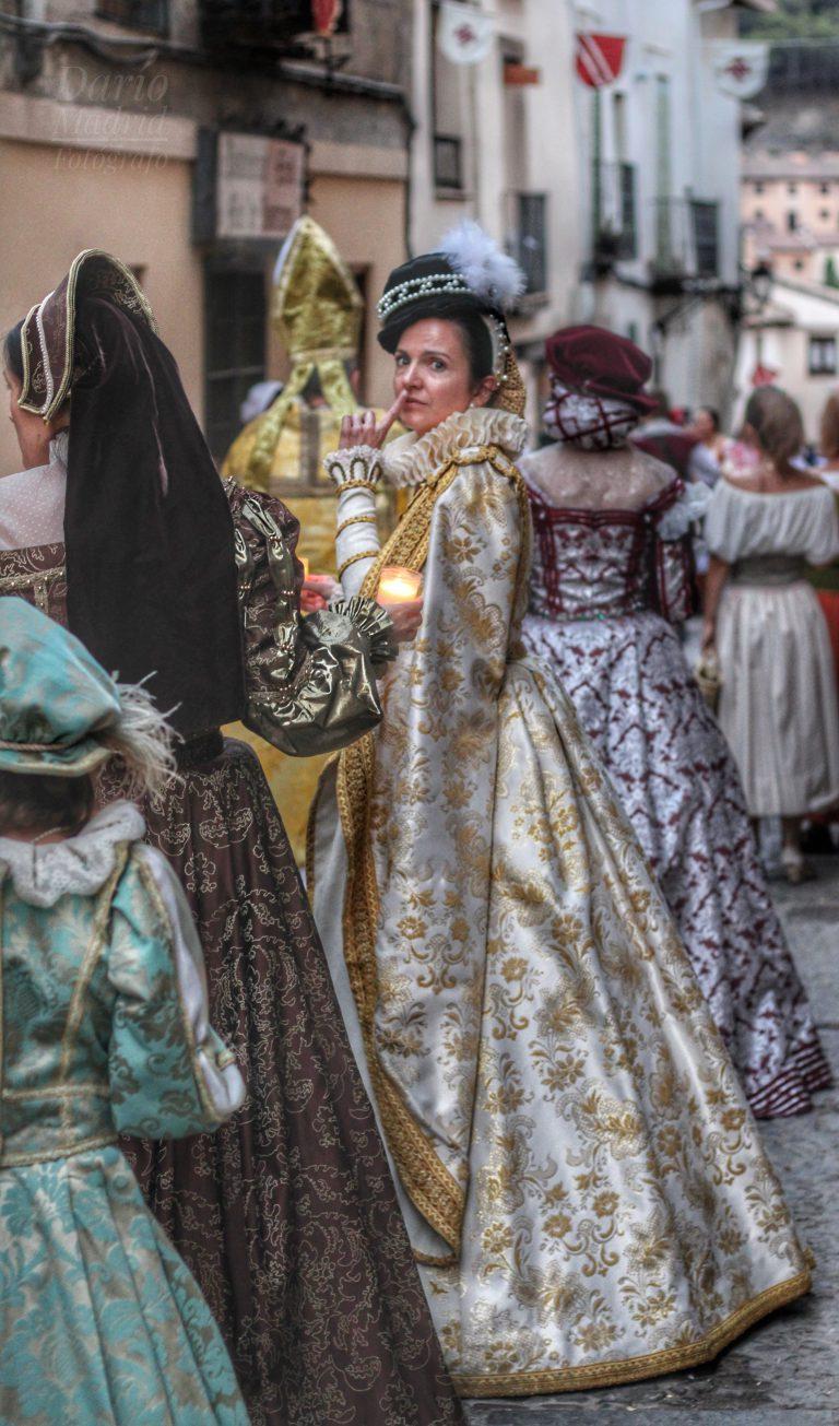Desfile de las Velas en Pastrana