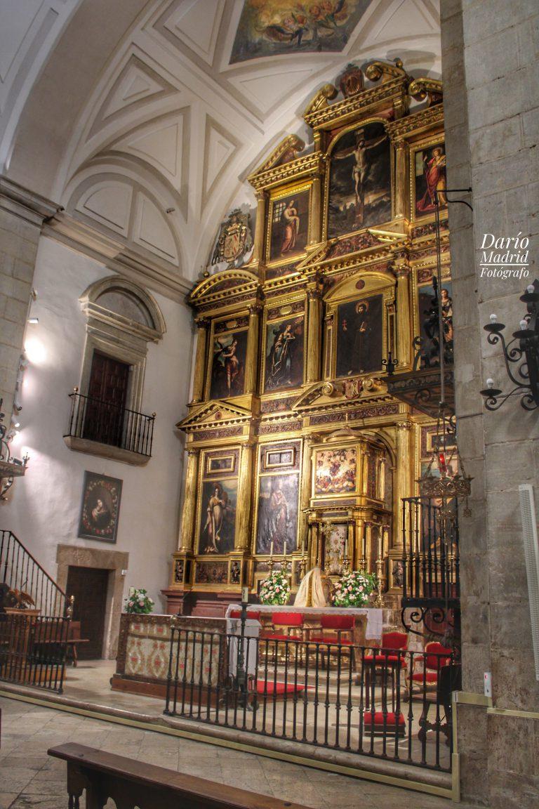 Retablo del Altar Mayor de la Iglesia Colegiata de la Asunción de Pastrana