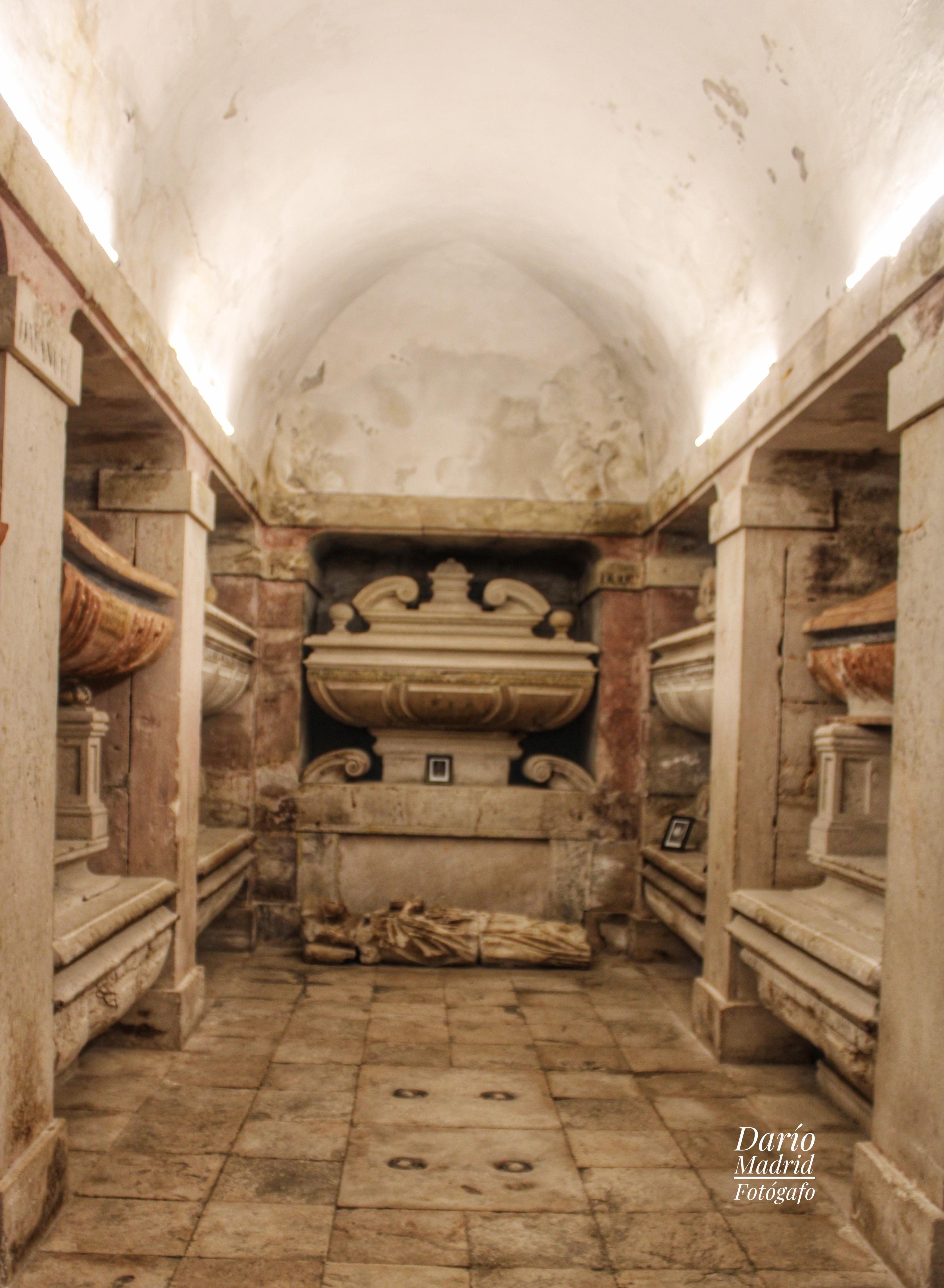 Cripta de la Iglesia Colegiata de la Asunción de Pastrana