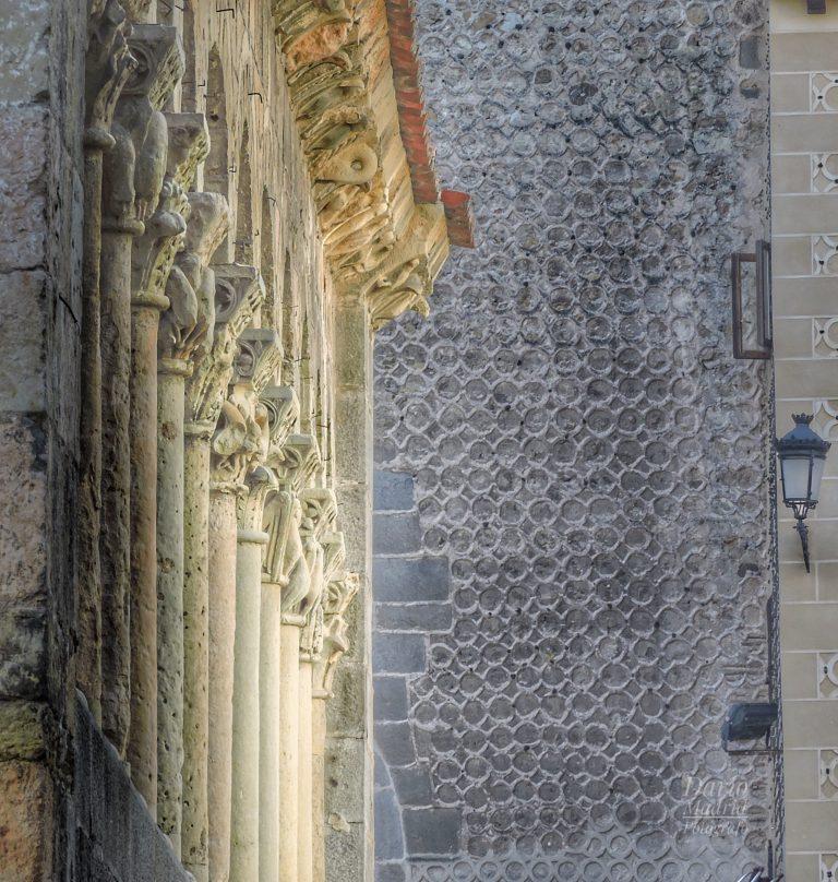 Atrio de la Iglesia de San Martín de Segovia