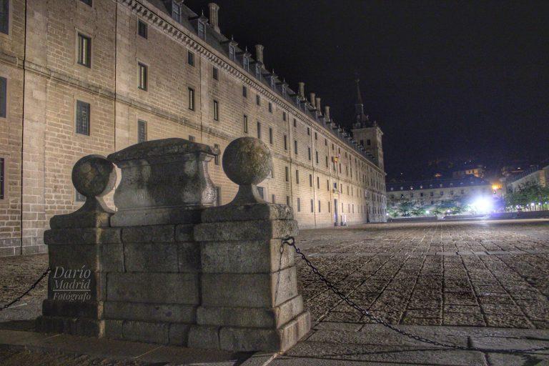 Nocturno de la Lonja del Monasterio de San Lorenzo de El Escorial