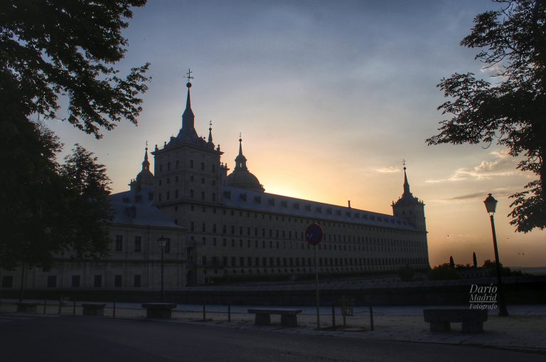 Amanecer en San Lorenzo del Escorial