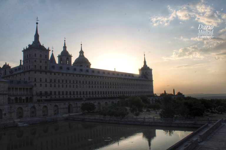 Amanecer en San Lorenzo de El Escorial