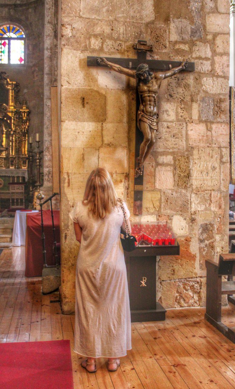 Cristo Crucificado en la Iglesia de San Martín de Segovia