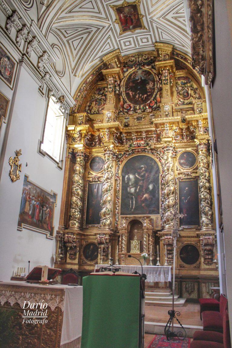 Altar Mayor de la Iglesia de San Martín de Segovia
