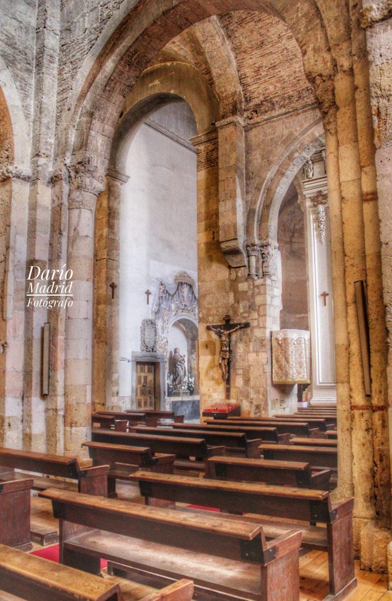 Interior de la Iglesia de San Martín de Segovia