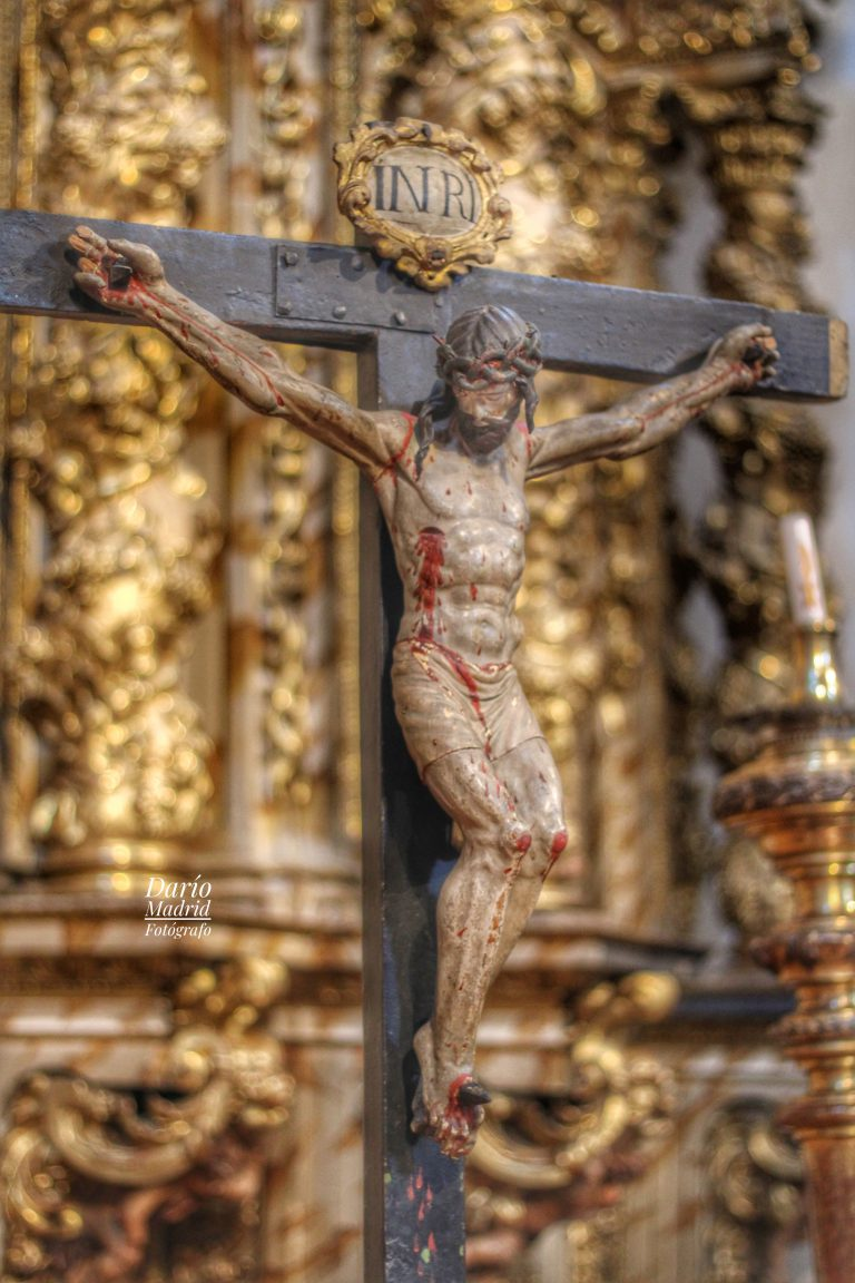 Crucifijo en la Iglesia de San Miguel de Segovia