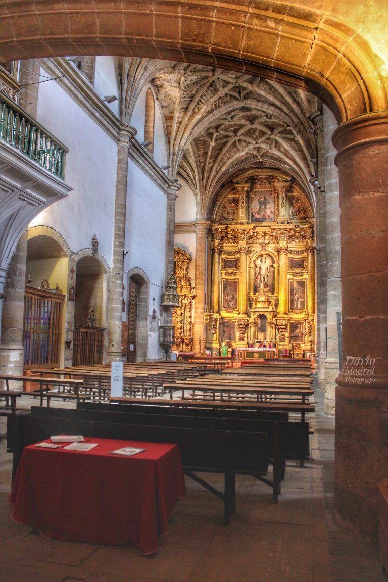 Interior de la Iglesia de San Miguel de Segovia