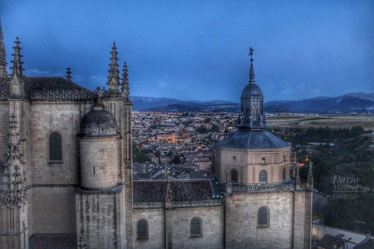 Vistas de Segovia desde la habitación del Campanero