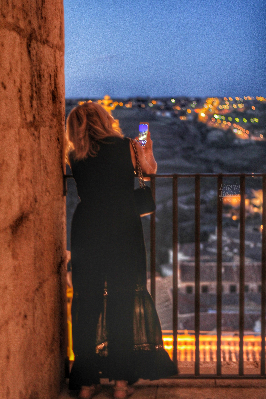 Fotografiando las Vistas desde la Catedral de Segovia