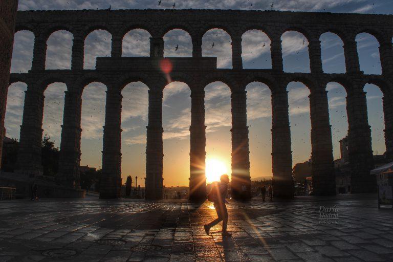 Amanece en Segovia