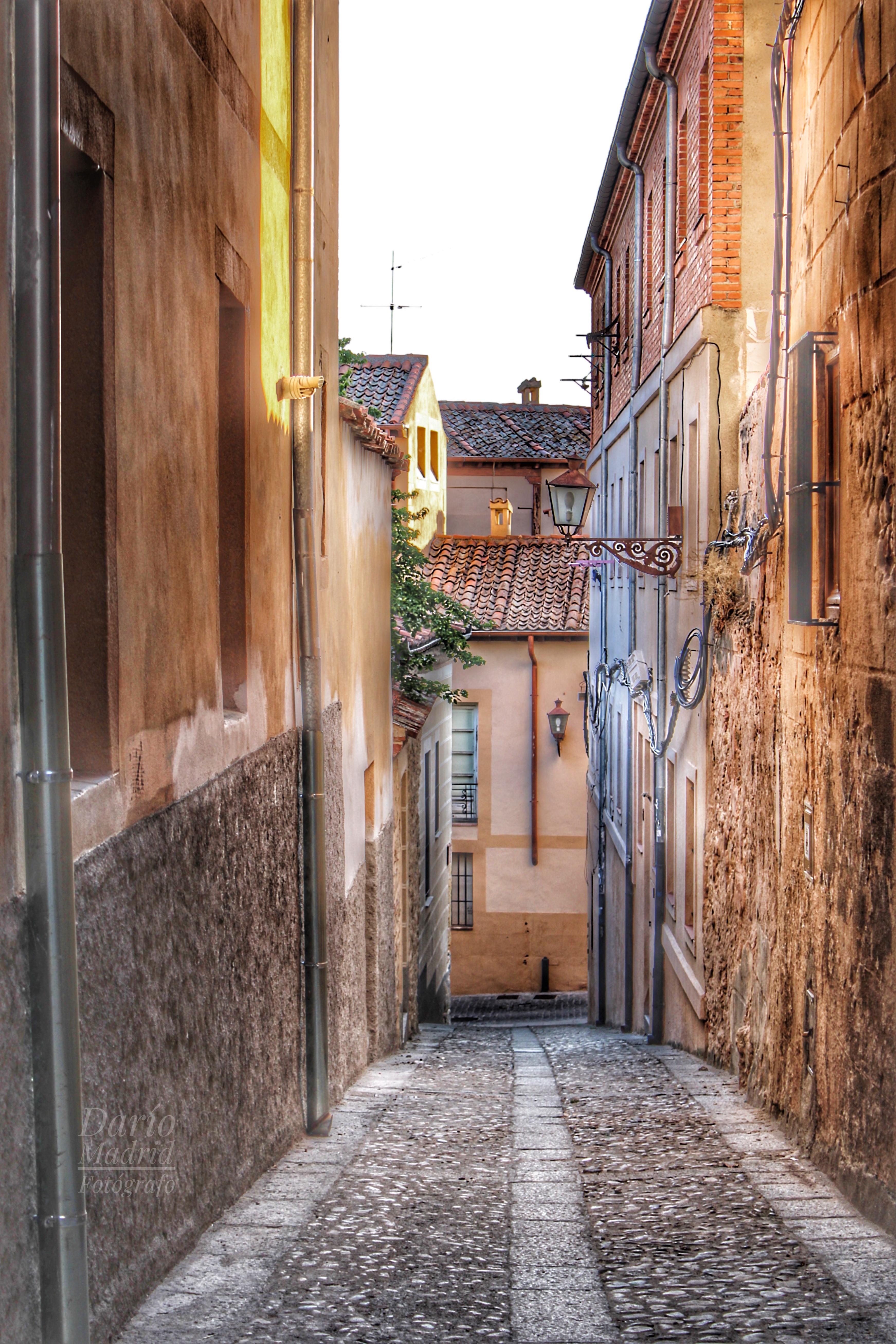 Calle de Segovia, Castilla, España