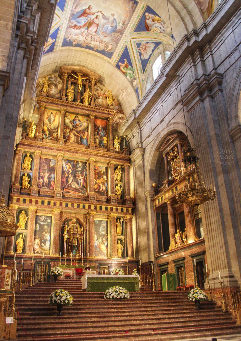 Altar Mayor de la Basílica del Monasterio de San Lorenzo de El Escorial