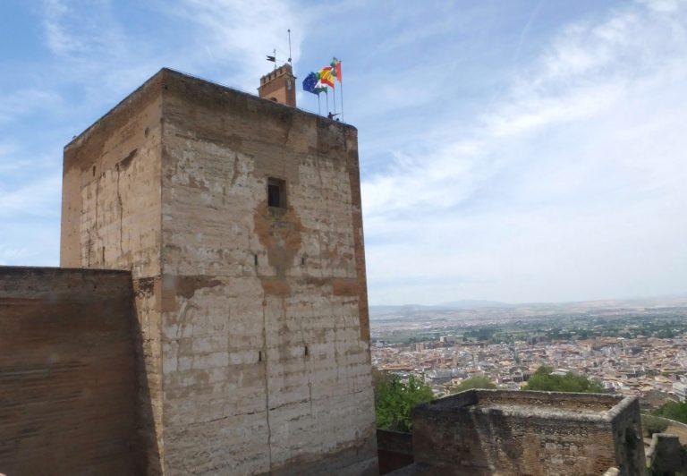 La Torre de la Vela de la Alhambra de Granada