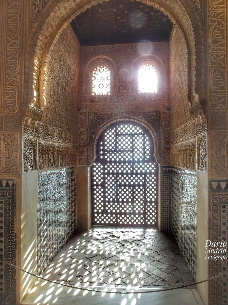 Balcón de la Torre de Comares de la Alhambra de Granada