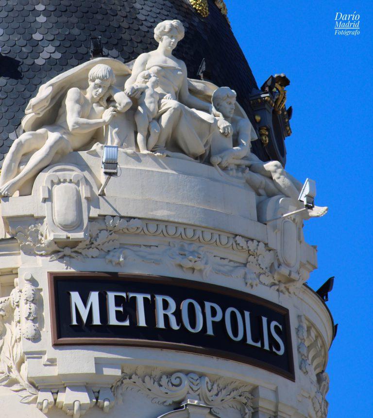 La Minería, el Comercio, la Agricultura y la Industria en el Edificio Metrópolis de Madrid