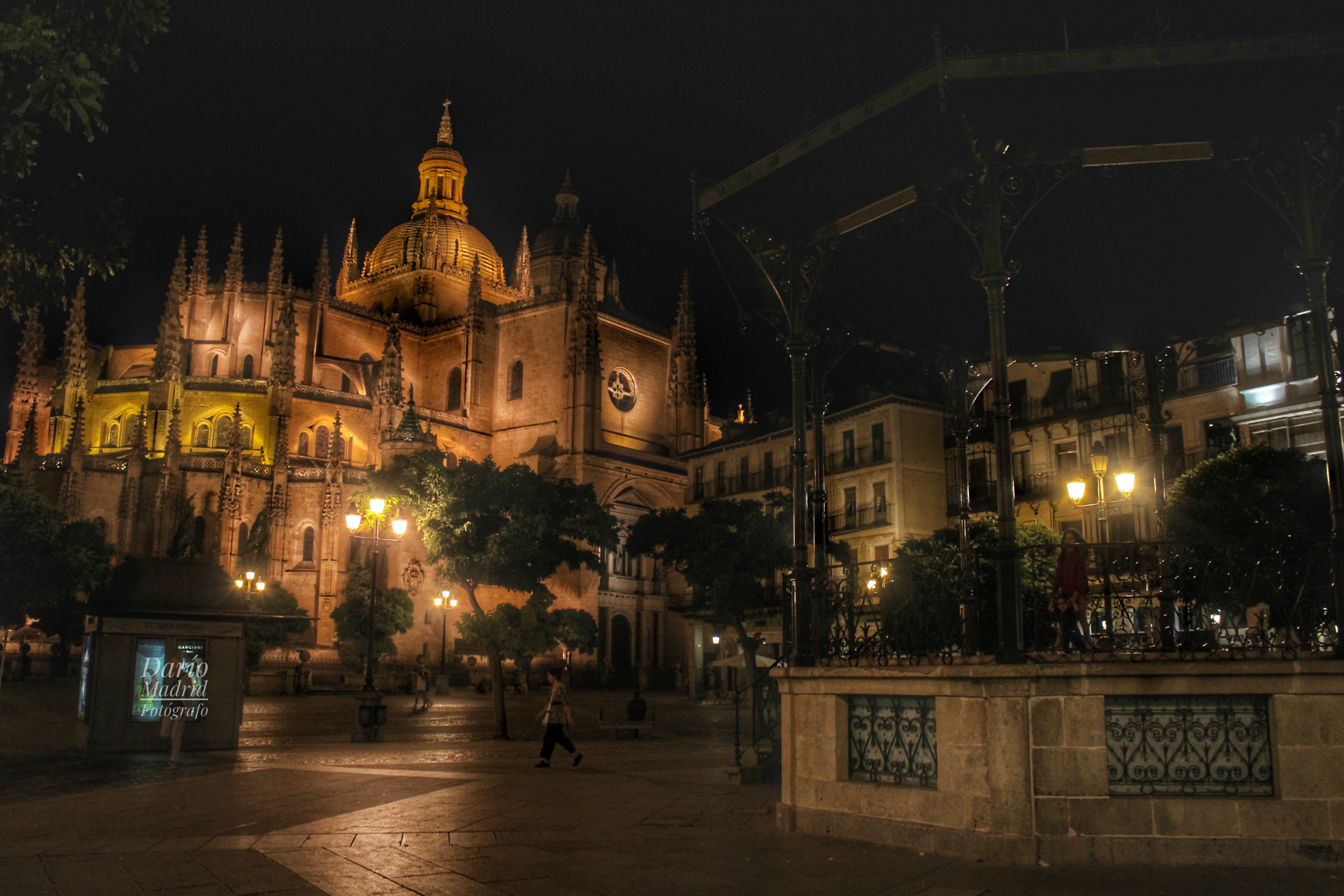 Nocturno de la Catedral de Segovia