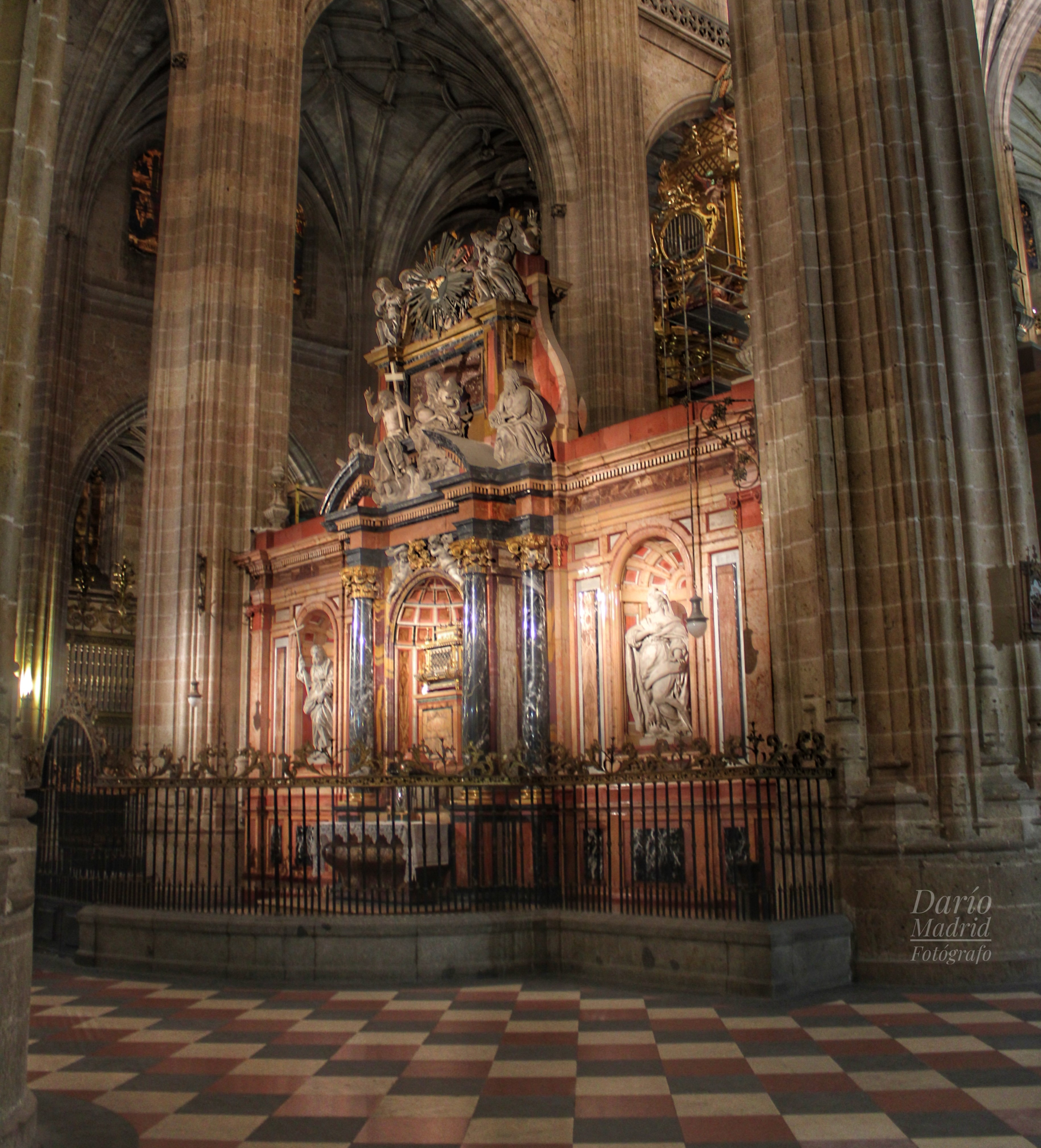 Trascoro de la Catedral de Segovia