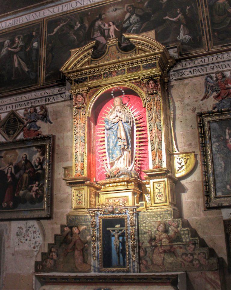 Capilla de la Inmaculada Concepción en la Catedral de Segovia