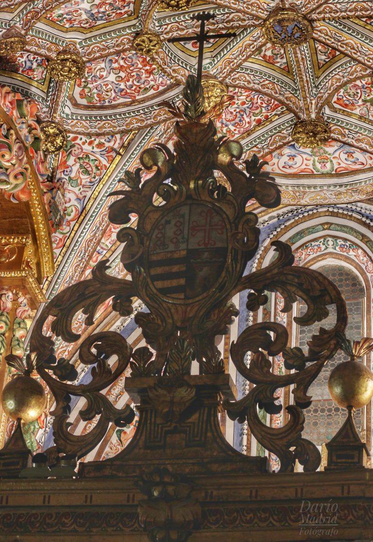 Techo de la Capilla del Cristo Yacente de la Catedral de Segovia