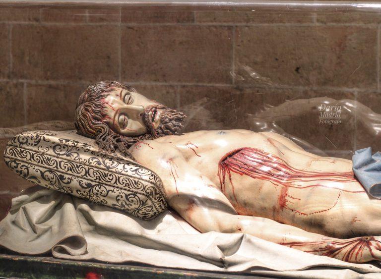 Cristo Yacente, obra de Gregorio Fernández (Catedral de Segovia)