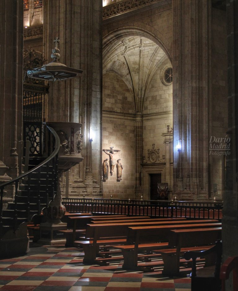 Púlpito de la Catedral de Segovia