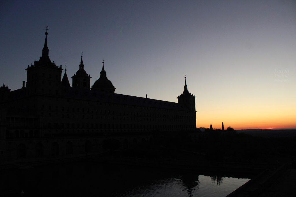 Amanacer en San Lorenzo de El Escorial