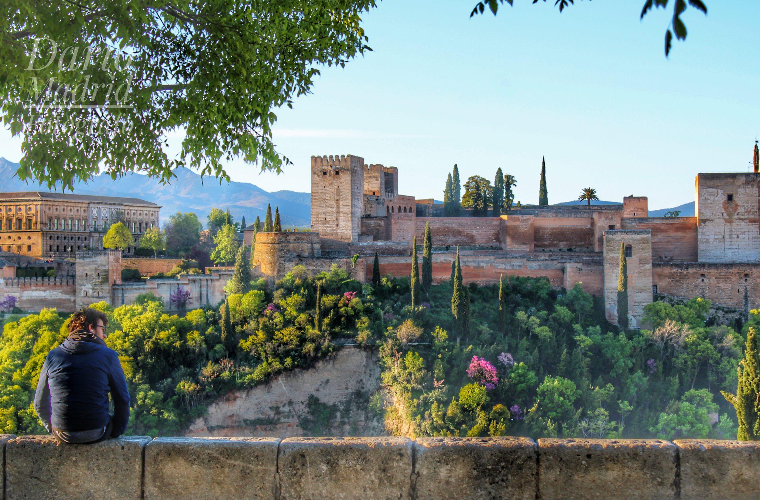 La Alhambra de Granada desde el Balcón de San Nicolás