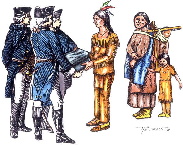 La Extinción de los Indios de Norteamérica por los Ingleses: las Mantas con Viruela y la Recompensa por Cabellera