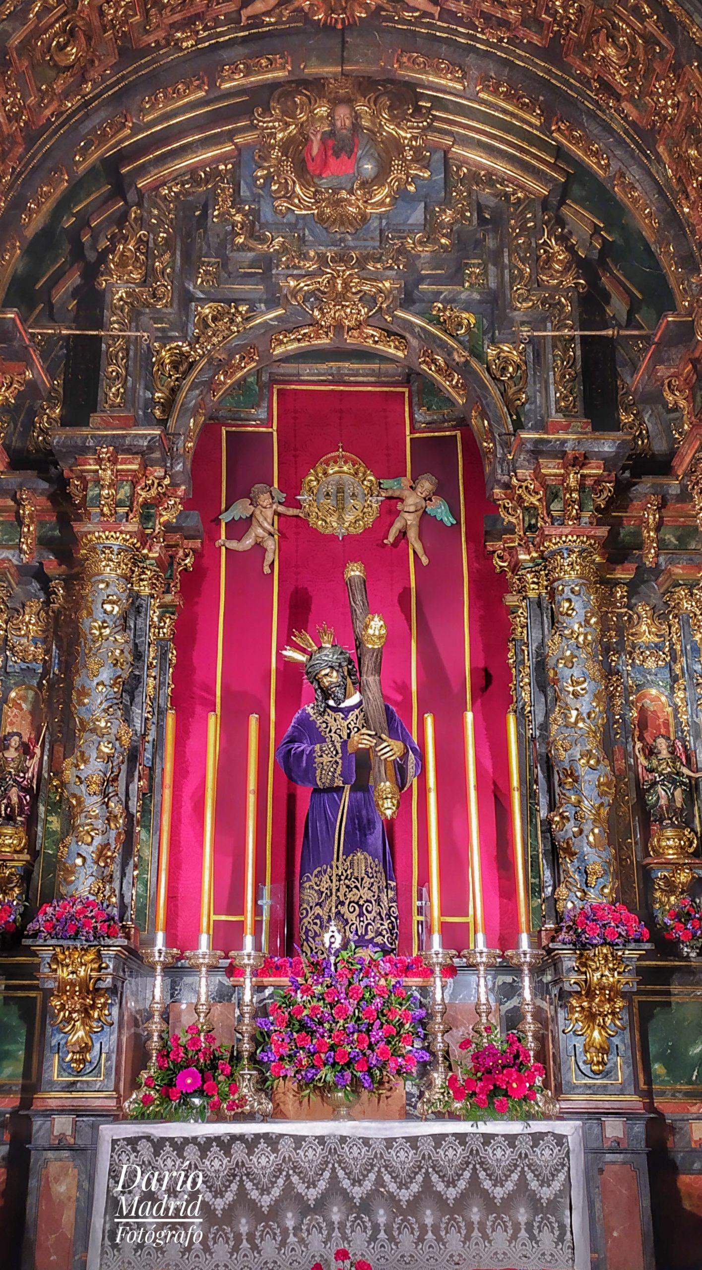 Cristo del Gran Poder en la Colegiata de San Isidro de Madrid
