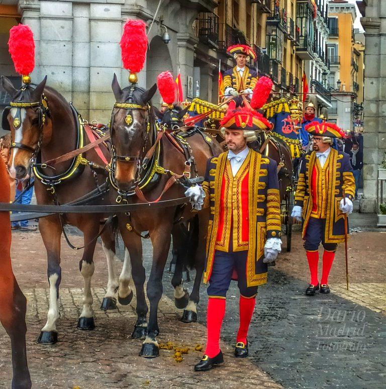 Ceremonia de Entrega de Credenciales al Rey de España