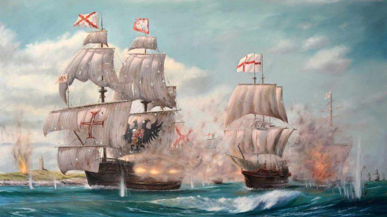No era la «Invencible» sino la «Felicisima Armada» y esa guerra la ganó España