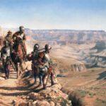 Los conquistadores españoles, los primeros exploradores europeos del actual territorio de los Estados Unidos